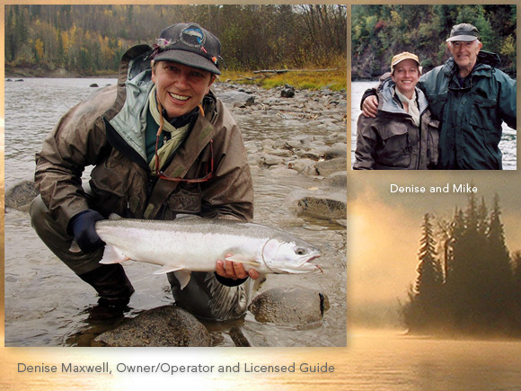 Denise Maxwell, Owner/Operator and Licensed Guide :: Maxwell Steelhead Guides