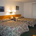 Fireweed Motel Room Interior :: Maxwell Steelhead Guides