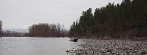 Maxwell Steelhead Guides fishing run