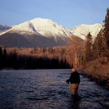Speyfishing for wild Bulkley River steelhead :: Maxwell Steelhead Guides